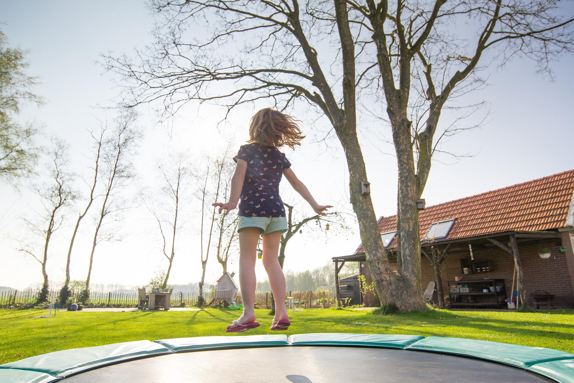 trampoline zelf zetten